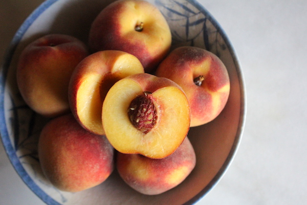 Contender Peaches from a farm in Vermont (Zone 4)