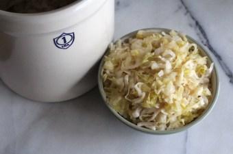How to Make Homemade Sauerkraut in a Crock