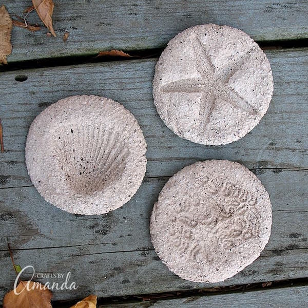 Coffee Grounds Fossils from Crafts by Amanda