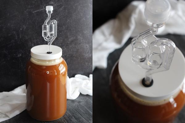 Fermenting Apple Cider Vinegar