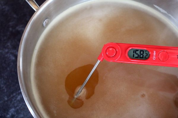 Pasteurizing ACV after Primary Ferment