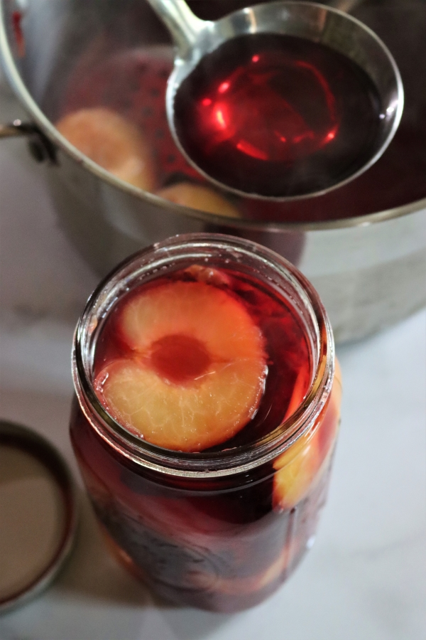 Canning Plums in syrup or water