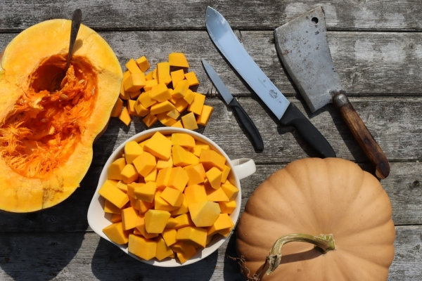 Processing Pumpkin for Canning