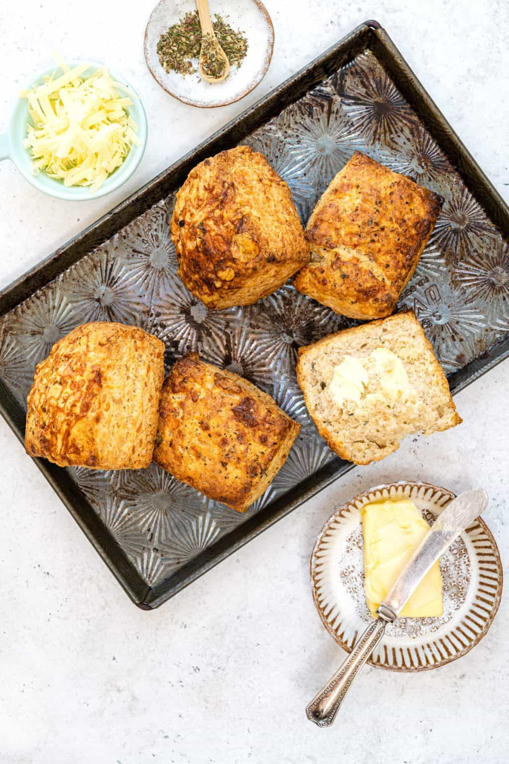 Sourdough Cheese Scones from Supergolden Bakes