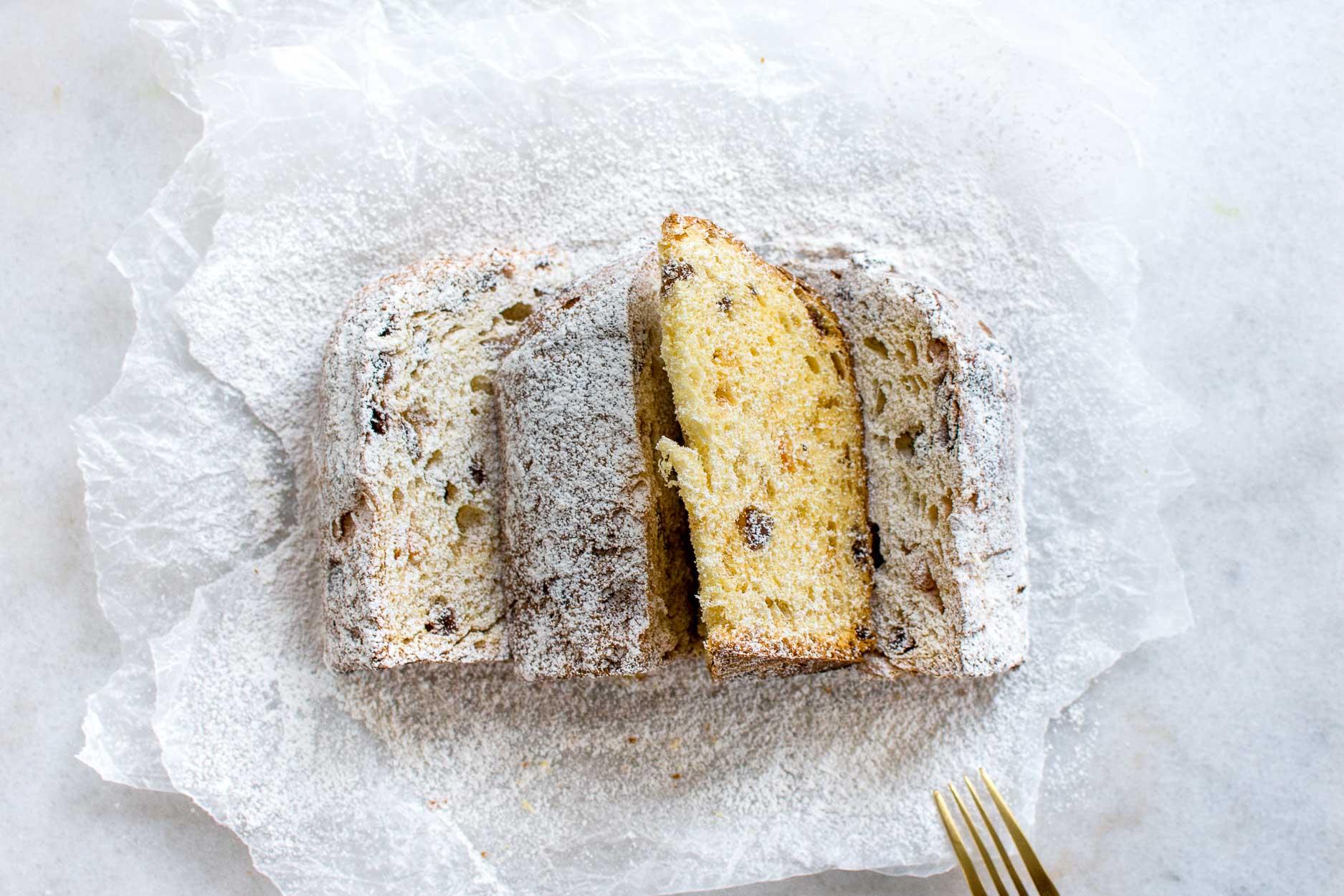 Einkorn sourdough panettone from nourished kitchen