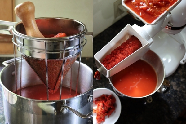 Preparing Tomatoes for Tomato Paste