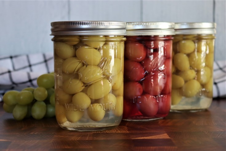Canning Grapes