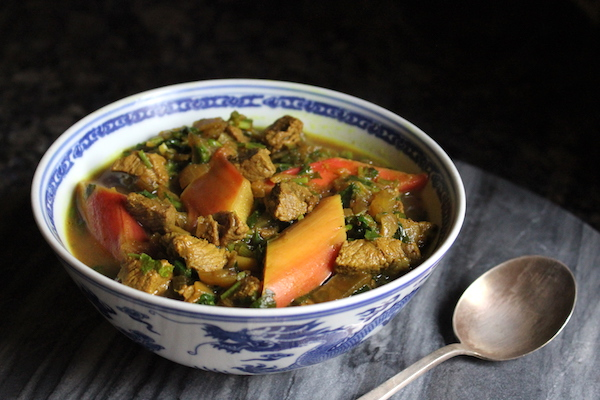 Persian Rhubarb Stew from Adamant Kitchen
