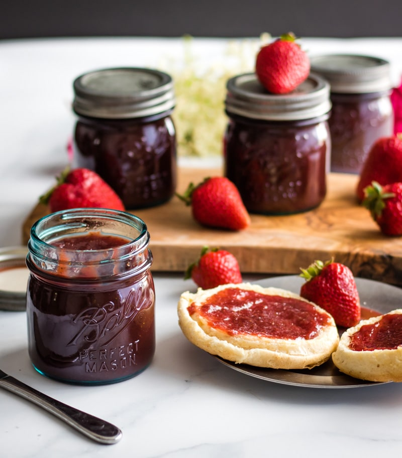 Strawberry Honey Butter from Grow Forage Cook Ferment