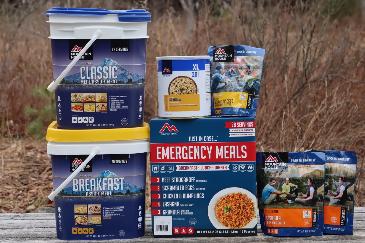 Mountain House Emergency Meals