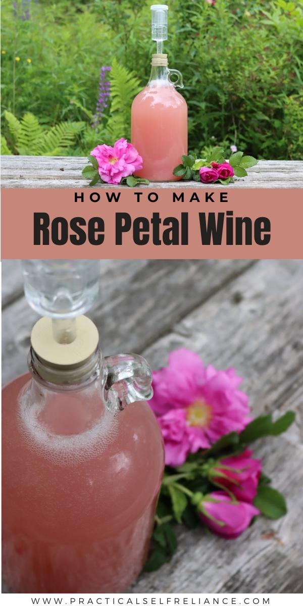 How to Make Rose Petal Wine