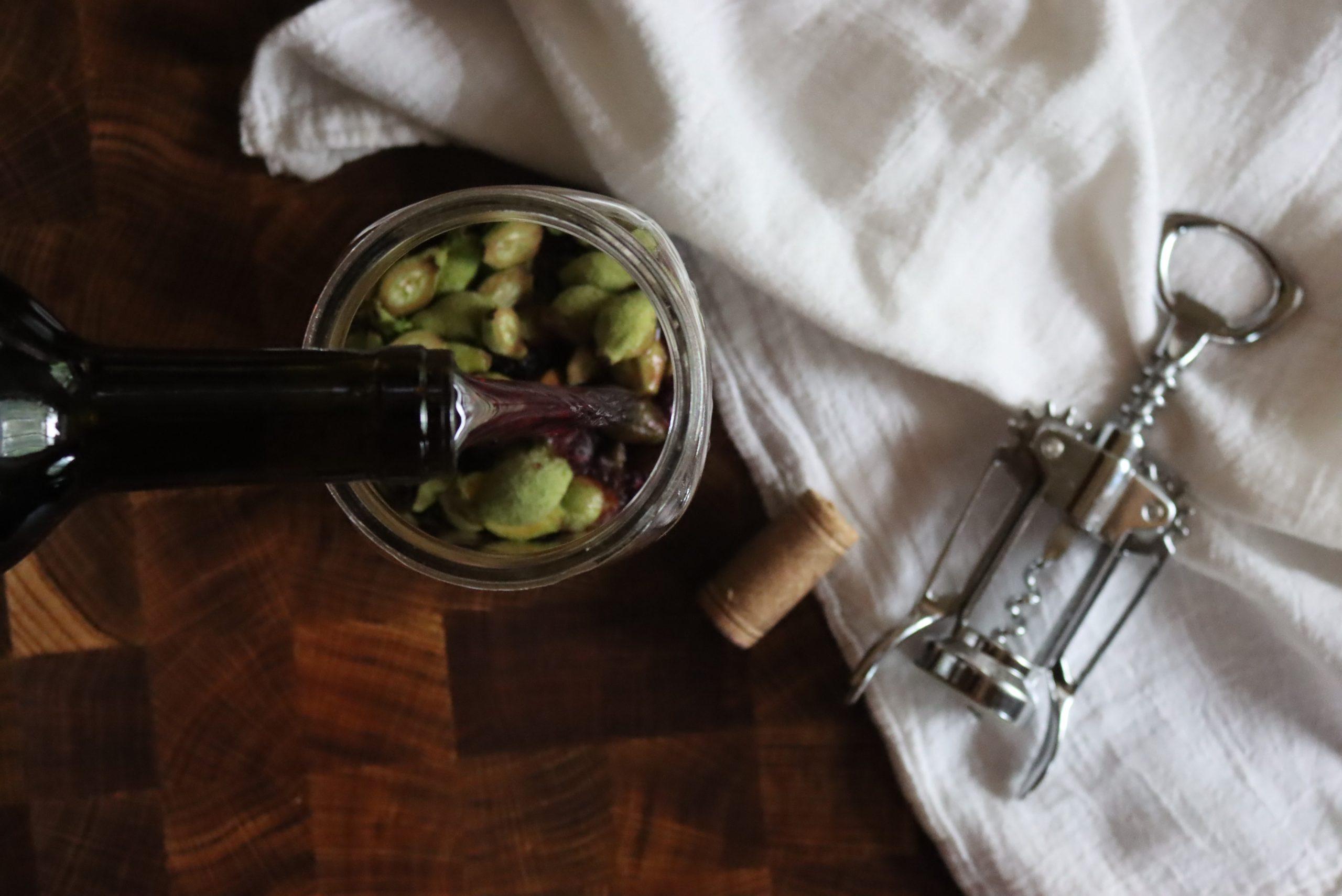 Making Vin de Noix