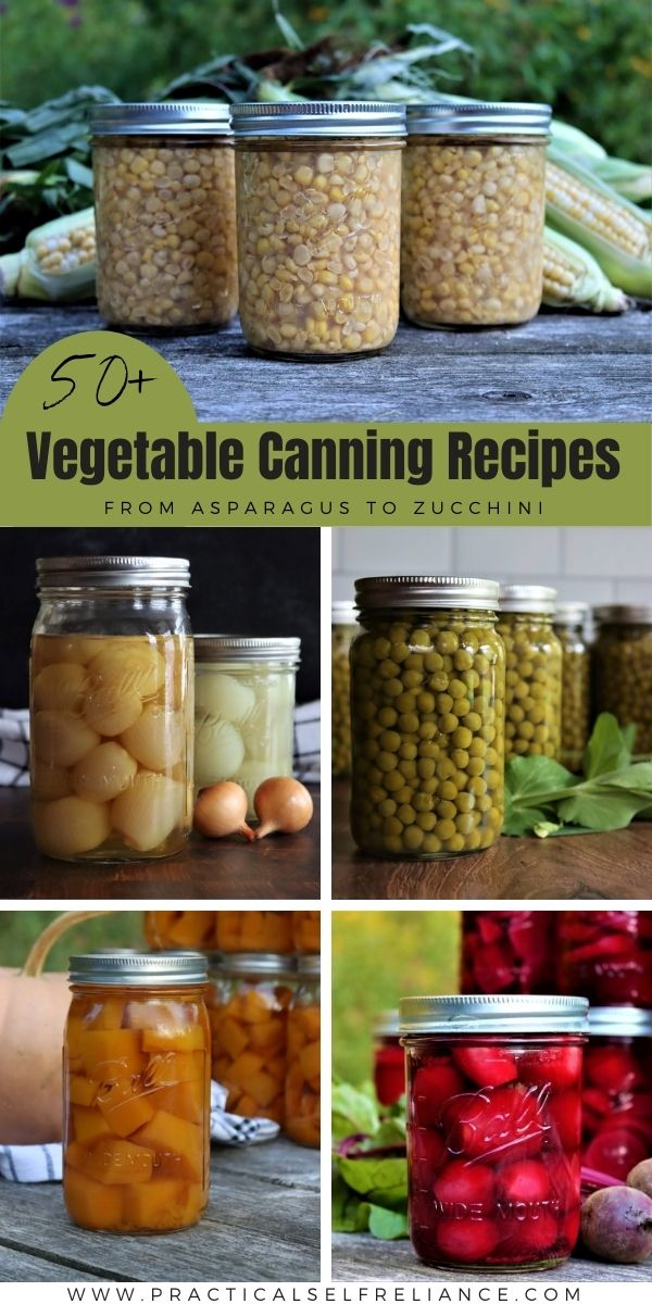 Vegetable Canning Recipes
