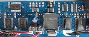 Main Board: Close up on ICs