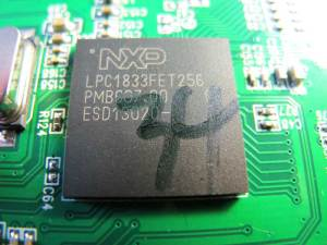 NXP 1833FET256 Arm Cortex-M3 processor