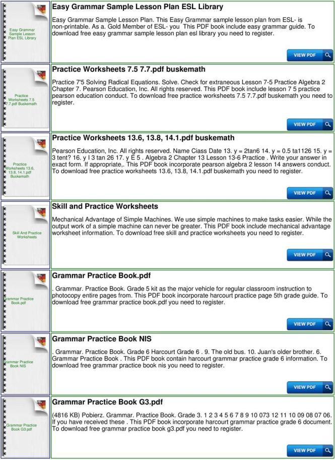 Grammar Practice Worksheets Esl Library Pdf - Practice