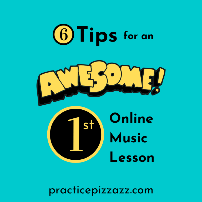 first online music lesson