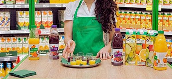 samples of juice