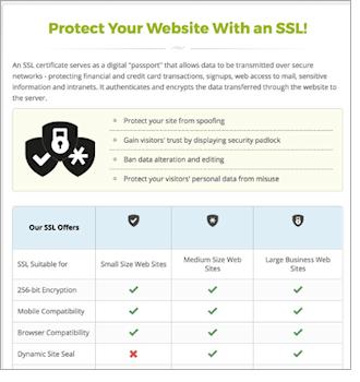 SSL table