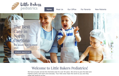 Milo A Pediatric Website Design Template