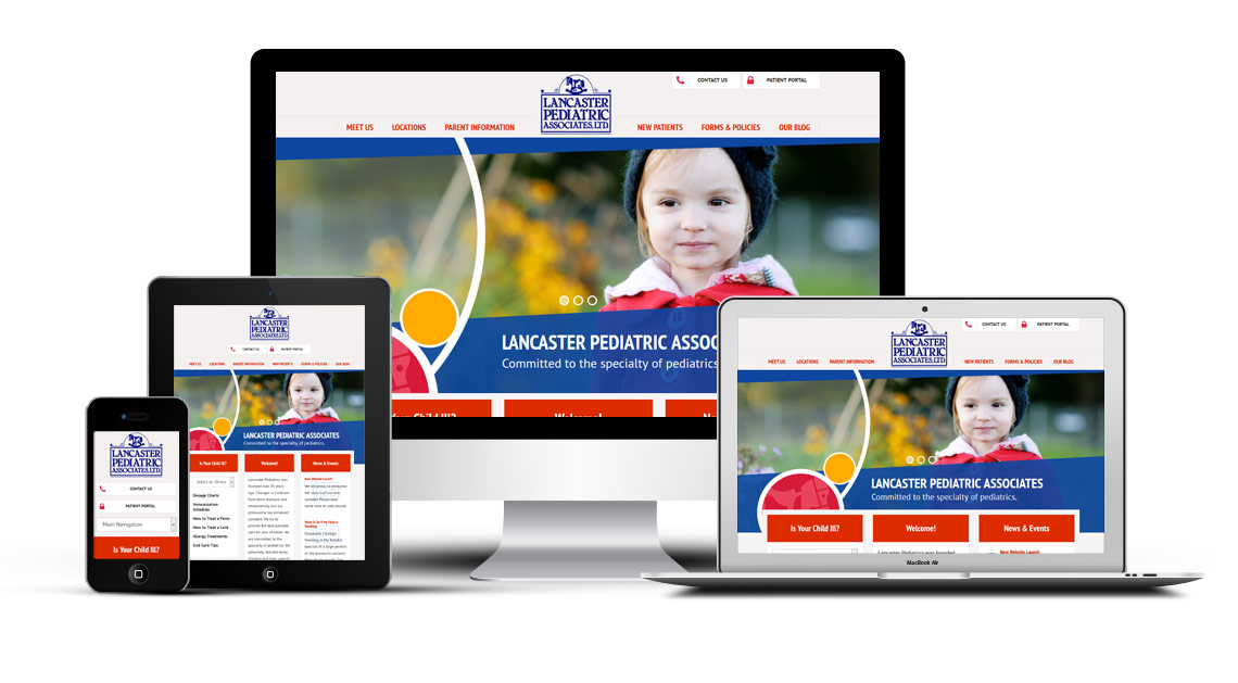 Redesigned Pediatric Website