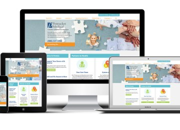 Pentucket Medical's responsive website was built by Practis, LLC