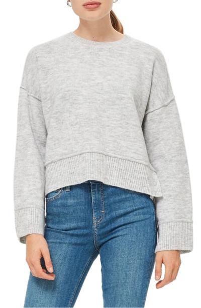 Topshop Popper Sweater
