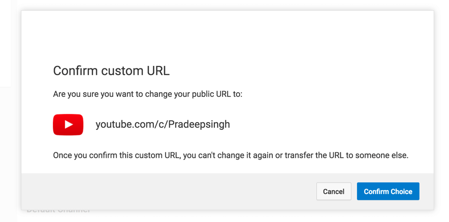 Custom YouTube URL For Your Channel - Complete Guide