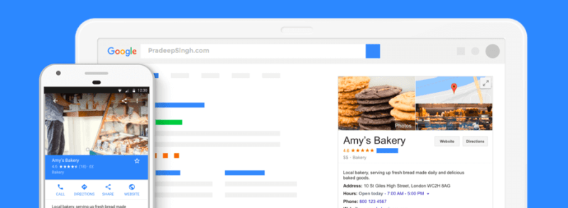 Free Website with Google My Business Features
