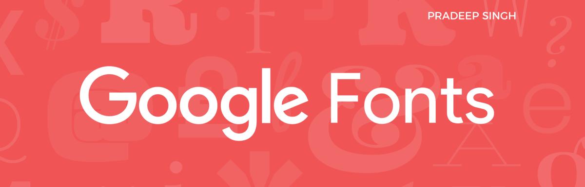 Google Sans Font – Product Sans Font from Google
