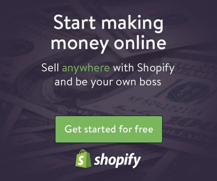 Shopify Start ECommerce Store and Make Money