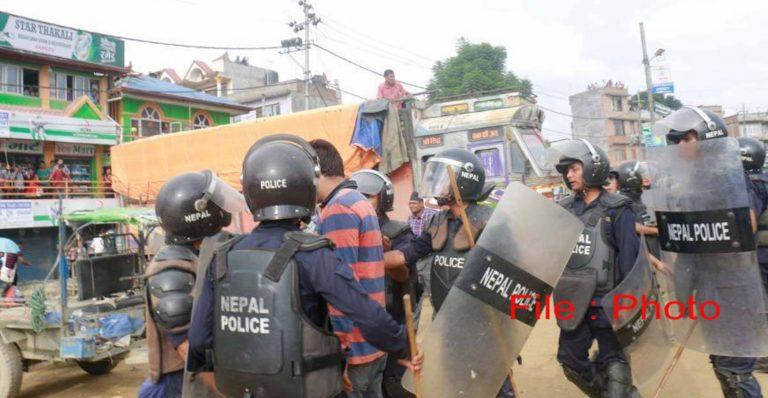 प्रहरी र विप्लवका कार्यकर्ता बिच भिडन्त, सर्लाहीमा एकजनाको मृत्यु