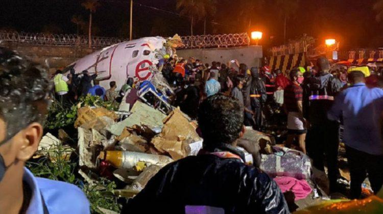एयर इन्डिया एक्सप्रेसको विमान दुर्घटनामा १९ को मृत्यु