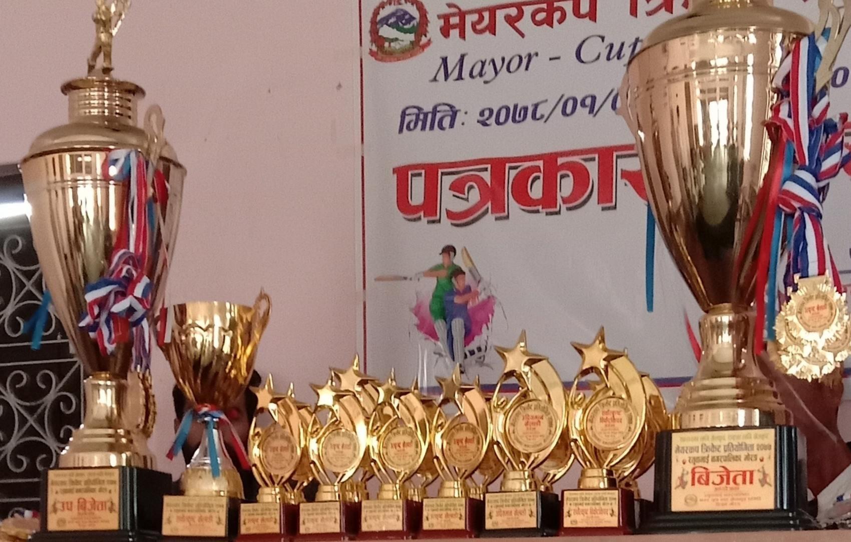 रतुवामाई मेयर क्रिकेट प्रतियोगिता हुदै