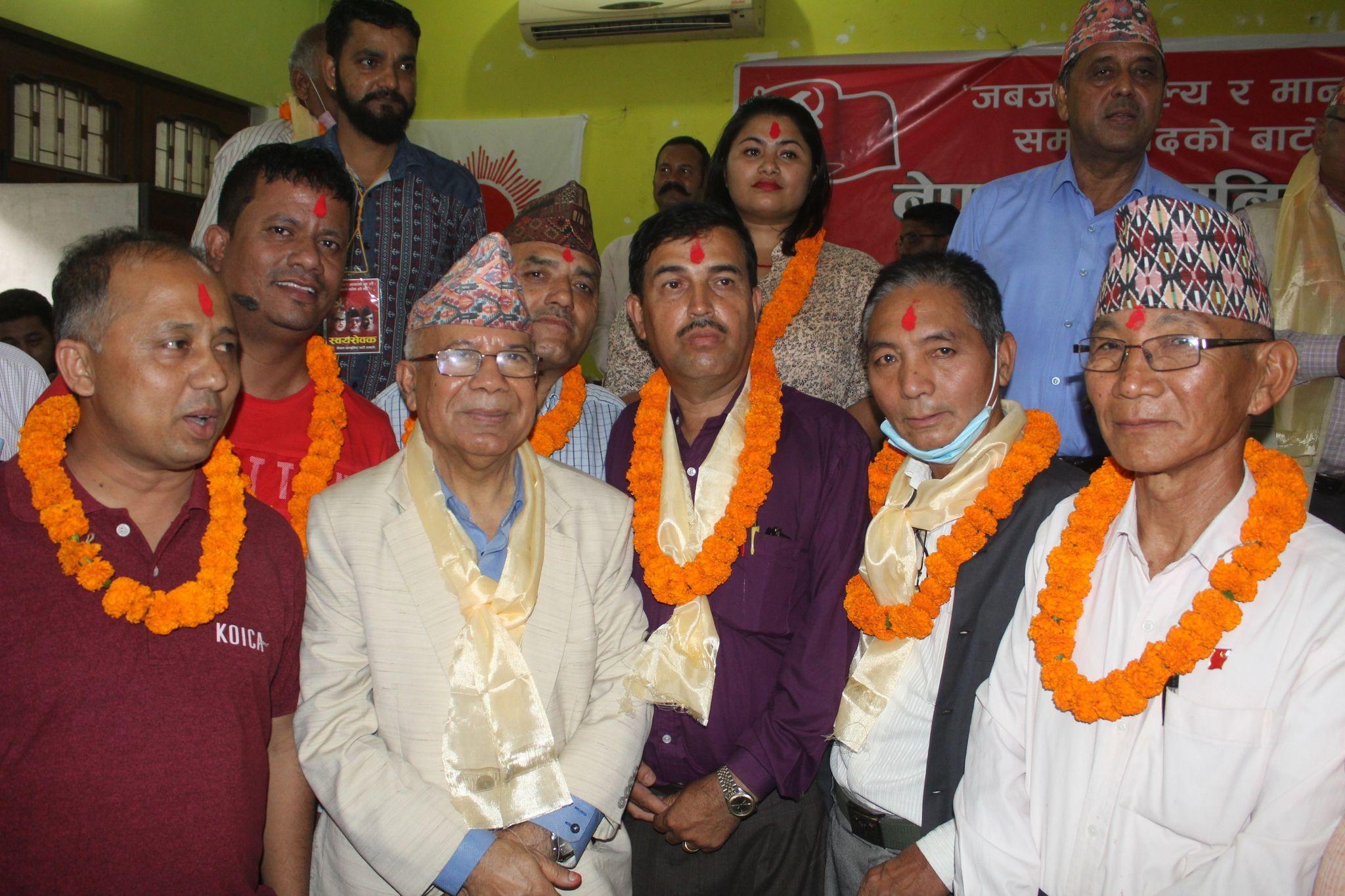 मोरङमा माधव नेपाल पक्षीय समानान्तर कमिटि गठन, अध्यक्षमा चन्द्रविर राई