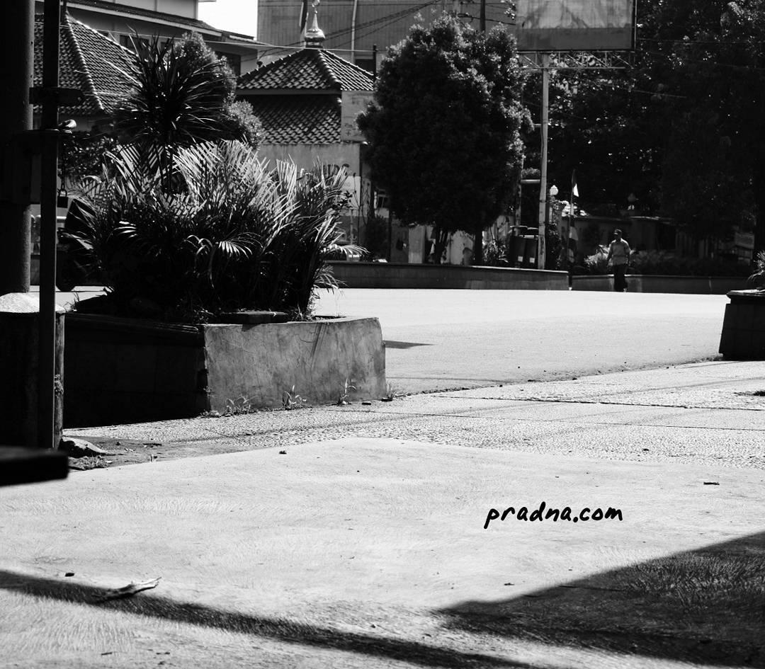 foto jalan jenderal sudirman purwokerto