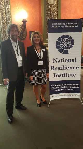 John with Melissa Reeves, President of the National Association of School Psychologists