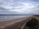 The beach of findhorn