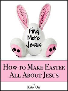Check out this great 8 day devotional and activity guide to help families teach their little ones that Easter is about more than candy and Easter Bunnies!
