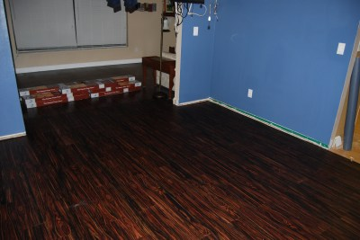 game room new flooring 3