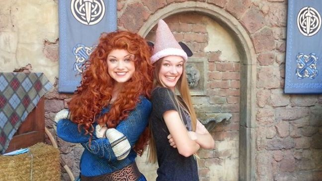 Merida and PinkGirl May 18 2014