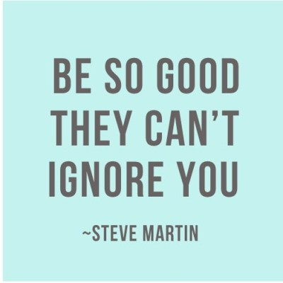 Steve Martin Be So Good They Cant Ignore You