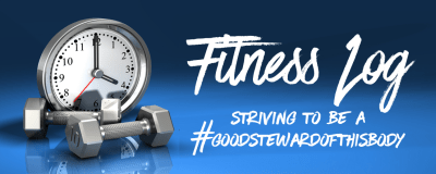 Links to My facebook and twitter fitness log posts