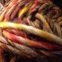 Yarn ball.