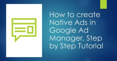How to create native ads