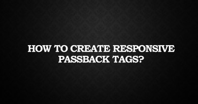How to create Responsive passback Tags