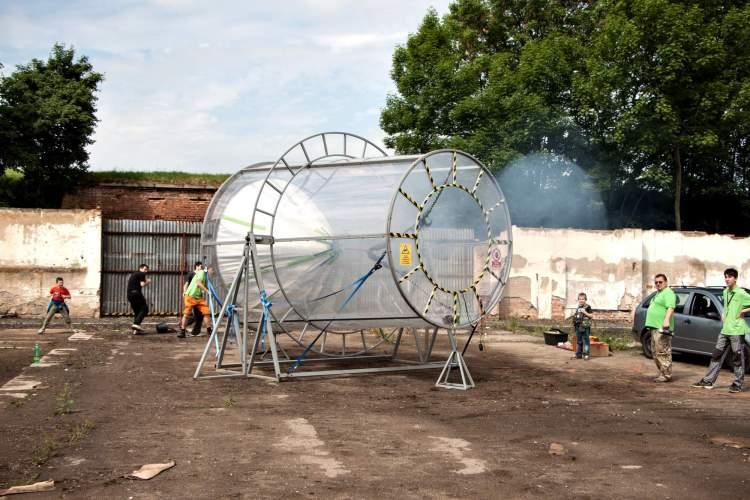 LABORKY.CZ: Největší vzduchové dělo na světě!