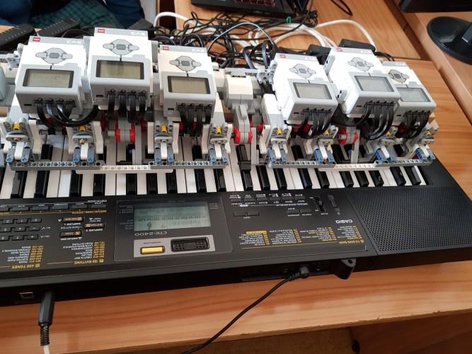 Využití stavebnice LEGO Mindstorms EV3 nejenom ve výuce technických předmětů