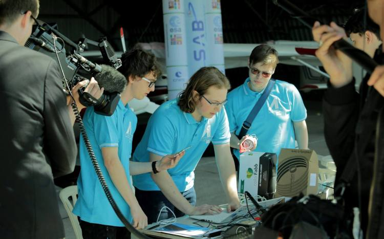 Charles the Fourth - CanSat team