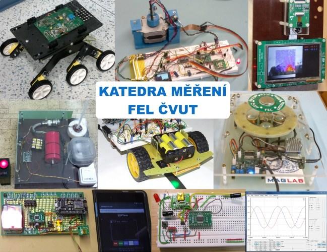 Elektronika, magnetismus, roboti a další projekty z Katedry měření, FEL ČVUT